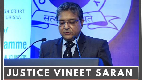Justice Vineet Saran